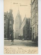 ALLEMAGNE - Gruss Aus HANNOVER - Marktkirche (1899) - Hannover
