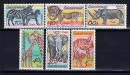 Czechoslovakia 1976 MNH Zoo Set