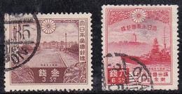 Japon 1935 N° Y&T : 223 Et 224 Obl.