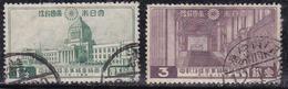 Japon 1936 N° Y&T : 234 Et 235 Obl.