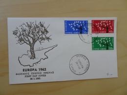 Zypern Michel 215/17 FDC Cept 1963 (4188) - Chypre (République)