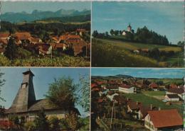 Schwarzenburg - Multiview - Stempel: Mamishaus - Photoglob No. 851 - BE Berne