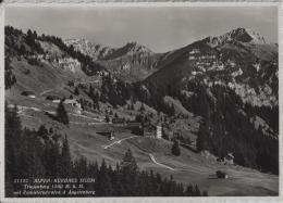 Alpen-Kurhaus Silum Triesenberg (1500 M) Mit Pamielerschrofen & Augstenberg - Photo: Hans Gross No. 21142 - Liechtenstein