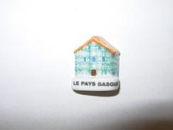 Feves Serie Les MAISONS De Nos Regions , LE PAYS BASQUE  Feve Maison , Façades - Regions
