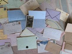 "38 Lettres Très Tendres D'Aline (Lily) Van Put à Son ""whispering"" Pierre Weissenbruch 1922-1925"