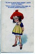 Si On Restait Toujours Bien Sage, On Ne Serait Jamais Heureux ! - 1900-1949