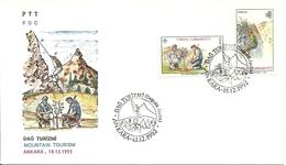 Turkey ; FDC 1992 Mountain Tourism