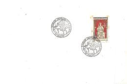 Journée Du Timbre Richard Coeur De Lyon 87 Chalus Du 10/04/1999 Timbre à 3,00, En état Correct. - Autres