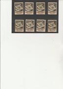 ESPERANTO -  8 VIGNETTES  IX E CONGRES 1913 -BERN - Commemorative Labels