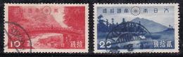 Japon 1938 N° Y&T : 281 Et 282 Obl.