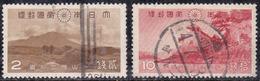 Japon 1939 N° Y&T : 283 Et 285 Obl.