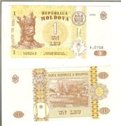 Moldavia / Moldova: 1 Leu 2006 - Moldavia