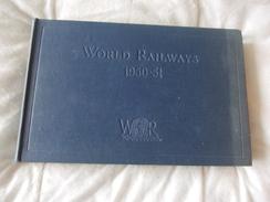 World Railways 1950 1951 Sampson Low - Boeken, Tijdschriften, Stripverhalen