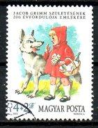 HONGRIE. N°2970 Oblitéré De 1985. Grimm/Chaperon Rouge/Loup.