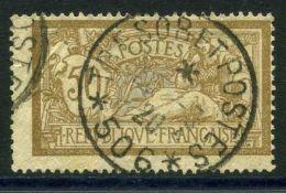 FRANCE (  POSTE  ) : Y&T  N°  120  TIMBRE  BIEN  OBLITERE ,  A  VOIR .