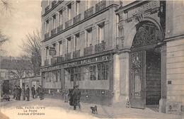 75-PARIS 14e- LA POSTE AVENUE D'ORLEANS - Arrondissement: 14