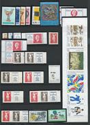 FRANCE - ANNEE 1994 - Tous Les Timbres Du N° 2854 Au N° 2917 - 74 Timbres Neufs Luxe (détail Dans Le Descriptif).