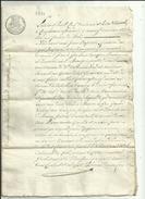 Tampon Quittance De C 60  Requise Par Mr DEMAISON Fr A Allonzier_et Jean ESCOFFIER Boulanger A  Annecy Voir Scan - 1800 – 1899