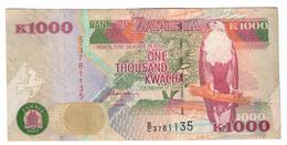 Zambia 1000 Kwacha 1992 *V* - Zambia