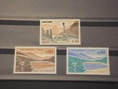 ANDORRA - 1961/71 VEDUTE 40-60-9O C.- - NUOVO(+)