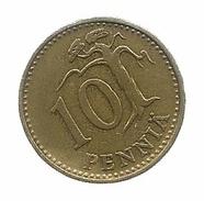 1963 - Finlandia 10 Pennia, - Finlandia