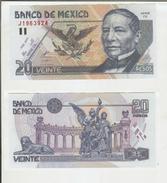 Mexico / Messico: 20 Pesos 23/04/1999 (qFDS) - Mexico