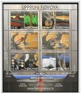 Faroer/Féroé/Faroe: Origine Delle Isole, Origine Des îles, Origin Of The Islands Foglietto, Block, Bloc