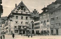 (30) CPA Zug  Hotel Ochsen  Kolinplatz Zug  (bon Etat) - ZG Zoug