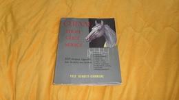 LIVRE ANCIEN DE 1963. / CHEVAL MON CHER SOUCI. 500 CROQUIS LEGENDES SUR LES SOINS AUX CHEVAUX. / YVES BENOIST GIRONIERE. - Tiere