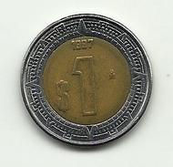 1997 - Messico 1 Peso, - Messico