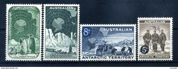 1959 TERR. ANT. AUSTRALIANO SERIE COMPLETA MNH ** - Territoire Antarctique Australien (AAT)