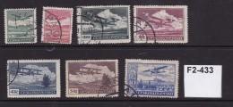 Czechoslovakia 1930 Air. 7 Values To 10K