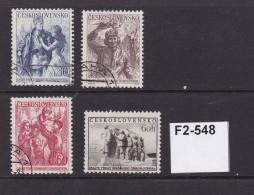 Czechoslovakia 1954 10th Anniversary Of Liberation Complete