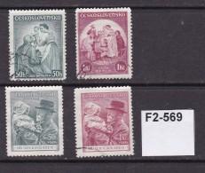 Czechoslovakia 1936-8 4 Charity Issues