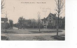 VILLA-DRAVEIL (S.-et-O) - Place Du Marché - Draveil