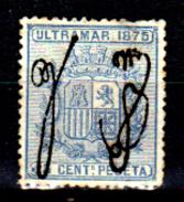 Porto-Rico-0003 - 1875 - Yvert & Tellier N. 5 (sg) NG - Piccolo Difetto Occulto. - America Centrale