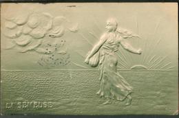 Carte Gauffrée  -   La Semeuse Roty - Fancy Cards