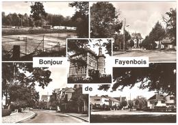 Bonjour De Fayenbois - Photo Véritable - Multivues - Ed. Droguerie Bernard - Beyne-Heusay