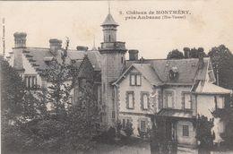 Cp , 87 , AMBAZAC , Environs , Château De MONTMÉRY - Ambazac