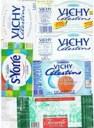 """ETIQUETTES-VICHY CELESTINS-+ 1 """"FERRARELLE""""-(ITALIE)-2 SCANS- - Etiketten"""