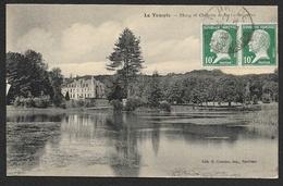 LE TEMPLE Rare Etang Et Château De La Fredonnière (Chartier) Loir & Cher (41) - France