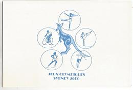 ENCART JEUX OLYMPIQUES DE SYDNEY 2000