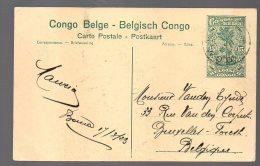 CONGO - Entier Stibbe Nr 61 -BOMA  - TB - BC1 - Ganzsachen