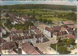 Cpsm, Héry (Yonne), Le Centre, Vue Aérienne