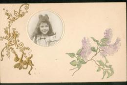 Carte Gauffrée -   Avec Photo D'enfant - Fancy Cards