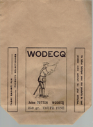 Sac Gros Papier.  WODECQ Jules Cotton. 250 Gr. Coupe Fine. Tabac Garanti Pur. (rare) - Non Classés