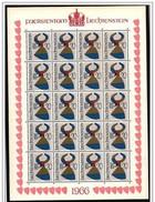 Liechtenstein: Foglietto, Block, Bloc, Stemmi Nobiliari, Armoiries, Noble Coats Of Arms
