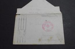 German Prisoner Complete Letter  Send Via Jugoslav Red Cross  10. VIII 1947. - 1945-1992 Socialist Federal Republic Of Yugoslavia