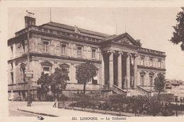 Cp , 87 , LIMOGES , Le Tribunal - Limoges