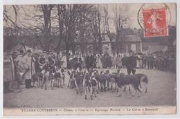Villers-Cotterêts (Aisne) - Equipage Menier - La Curée à Bonneuil-en-Valois (Oise) - Chasse à Courre - Vénerie - Frankreich